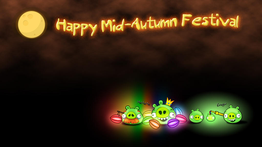 Happy Mid-Autumn Festival bg by RiverKpocc