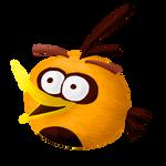 Angry orange bird