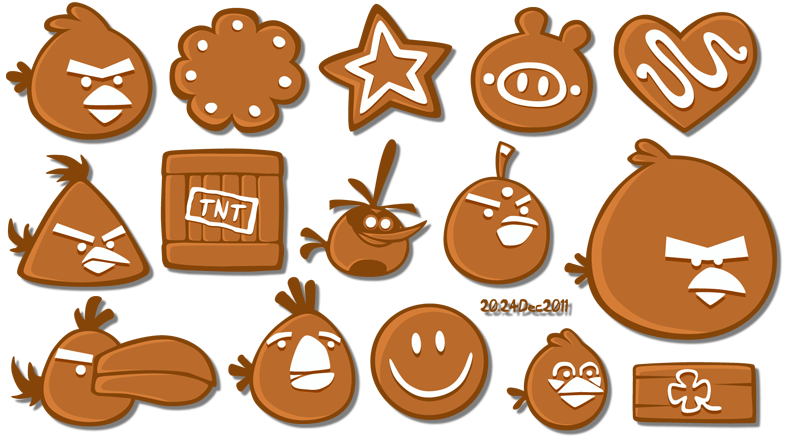 More angry gingerbread by RiverKpocc
