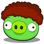Afro Pig avatar by RiverKpocc