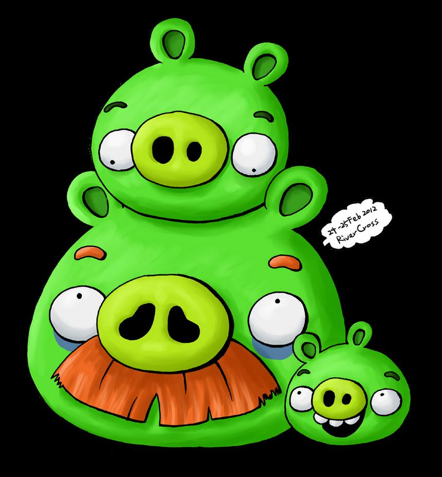 the green pigs family 2riverkpocc on deviantart