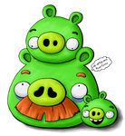 The Green Pigs Family 2