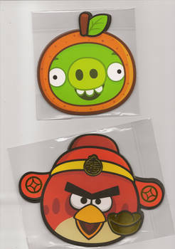 Angry Birds red packets