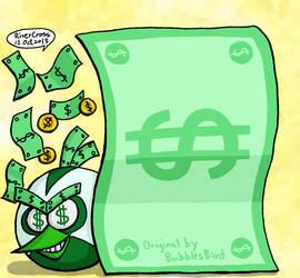 Journal Skin Money Bird