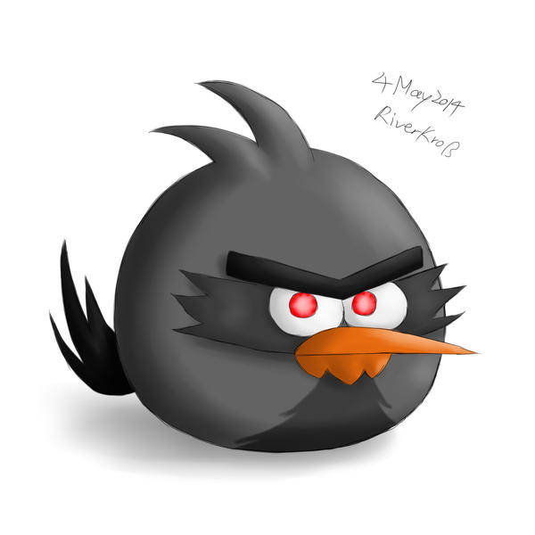 Spike Bird by RiverKpocc