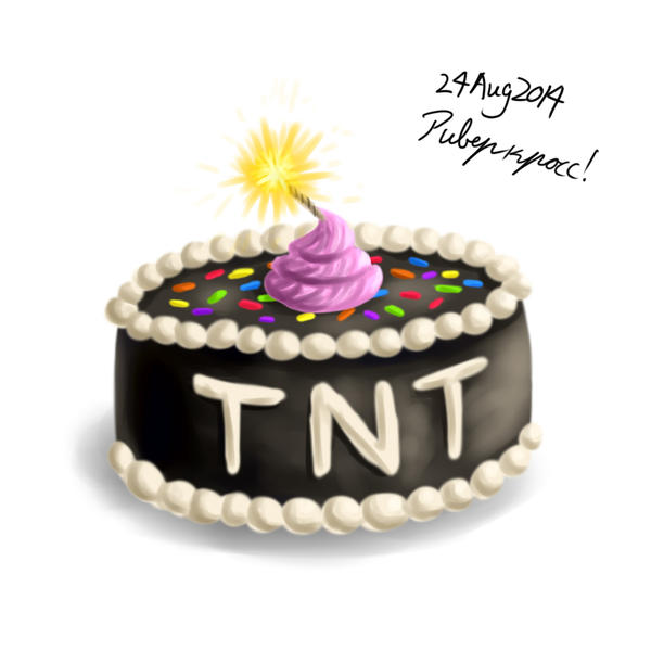 TNT Cake by RiverKpocc
