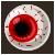 Eye Candy Red Iris by RiverKpocc
