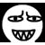 Al emotion - Frowning Sharp Teeth Smile