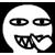 Al emotion - Digging Nose Sharp Teeth Smile by RiverKpocc