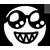 Al emotion - Shinning Glasses Sharp Teeth Smile