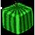 Cube watermelon 50x50 icon