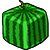 Cube watermelon 50x50 icon