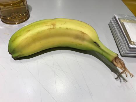 Conjoined banana