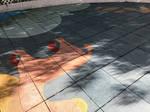 Tree shadow under Partial Solar Eclipse