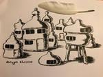 Alien houses
