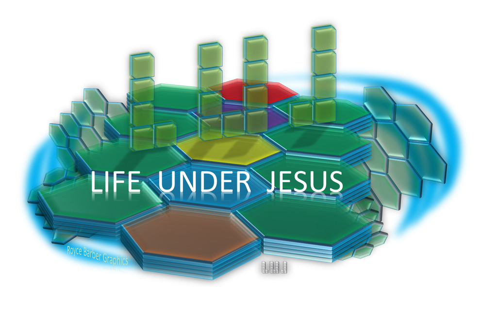 Life under Jesus 2 by Royce-Barber