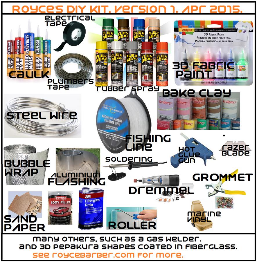 My DIY Toolkit by Royce-Barber