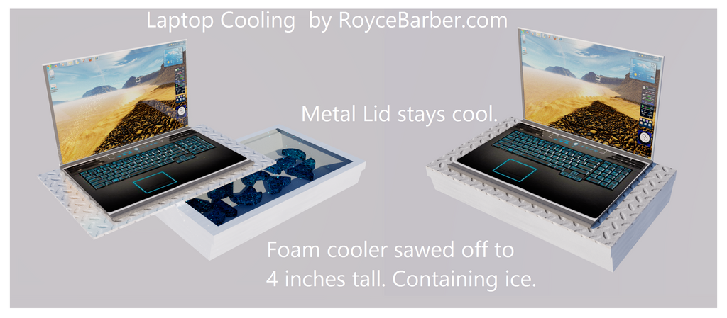 Laptop Cooling by Royce-Barber