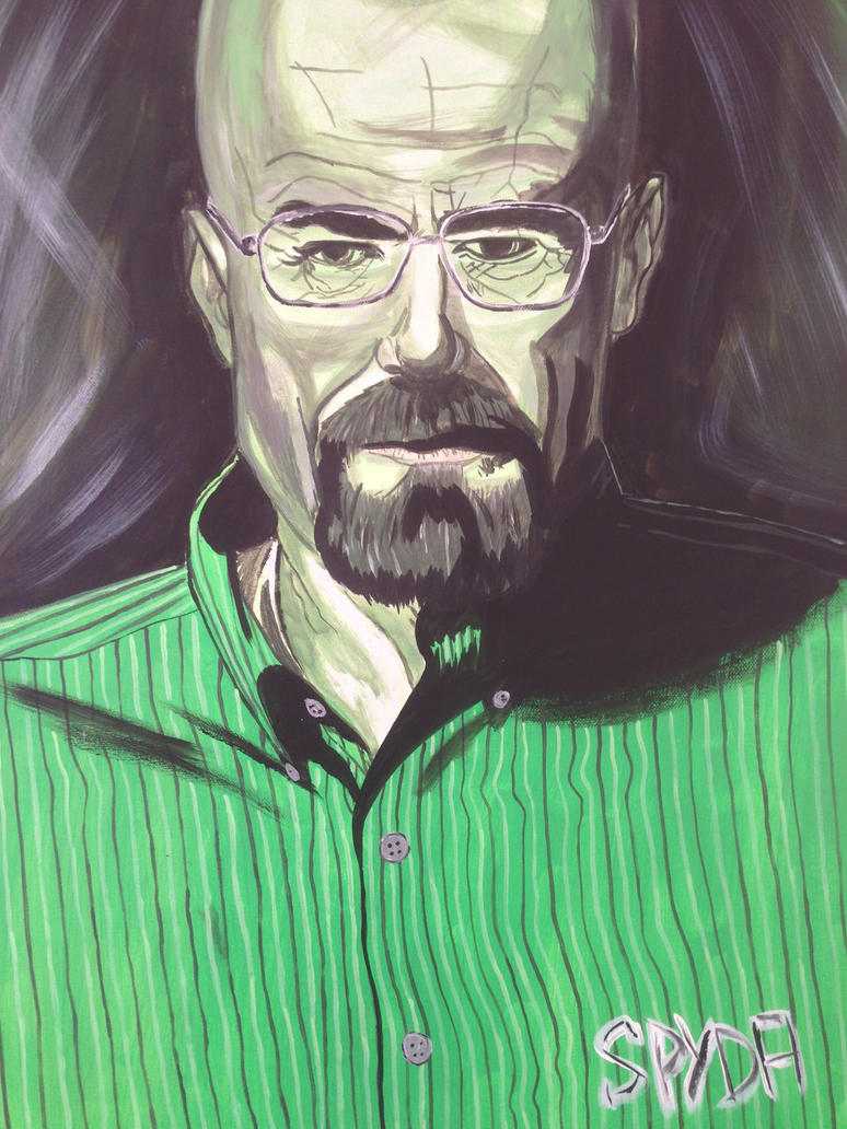 Walter White by zpydaman
