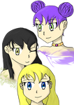 Molly, Rose, Brittany by CurePassion99