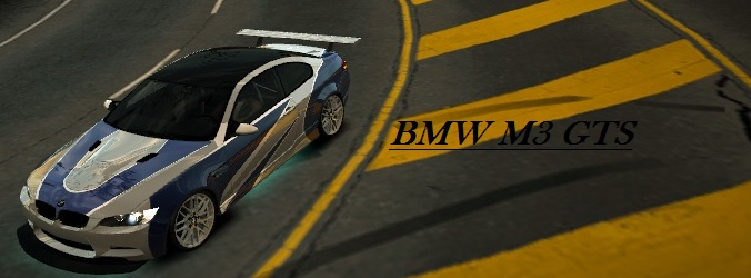 Most Wanted BMW M3 GTS by Cosmic-Drifter