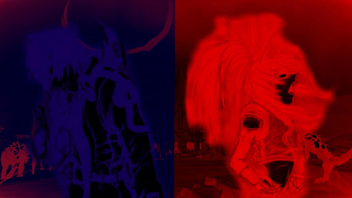 RWBY Orochi Blood Wallpaper by Cosmic-Drifter