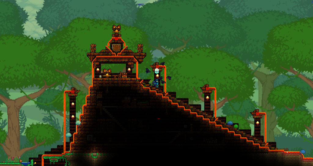 terraria best house ideas with Terraria Temple Build 452483067 on The Ultimate Arena Afk Non Afk Versus Moon Events Invasions All Boss also 547 as well Terraria Temple Build 452483067 also 12 Terrarium Ideas For Home Decor moreover Ocarina of time inspired castle.