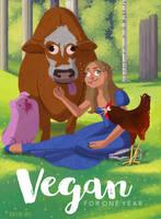 Vegan Princess by kirstenshiel