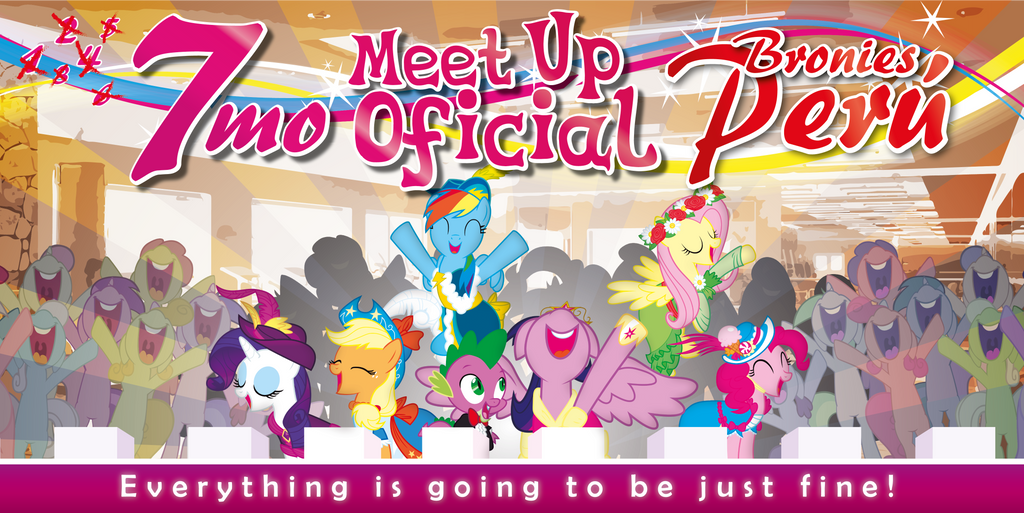 7th Bronies Peru Official Meet Up by JcosHooves