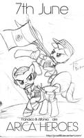 Arica Heroes (Sketch)