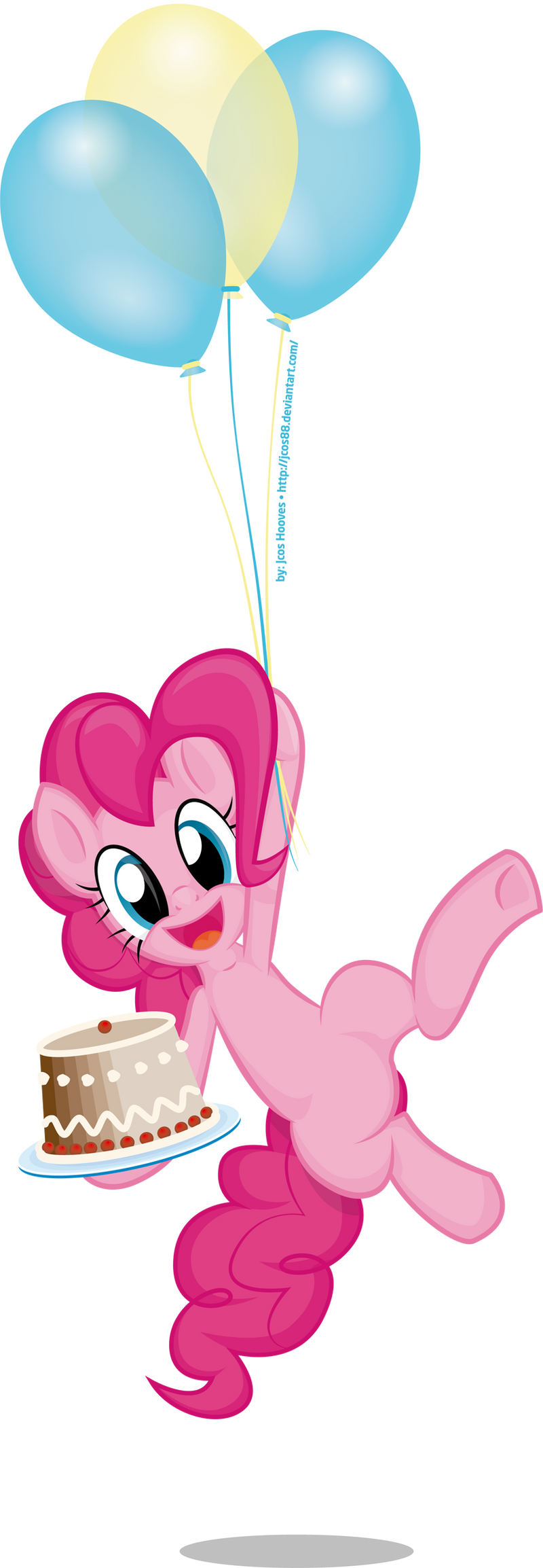 Pinkie's Flying Dessert by JcosNeverExisted