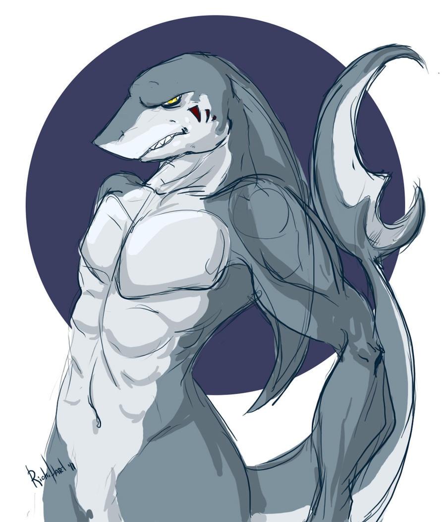 Shark Form by RichiHart