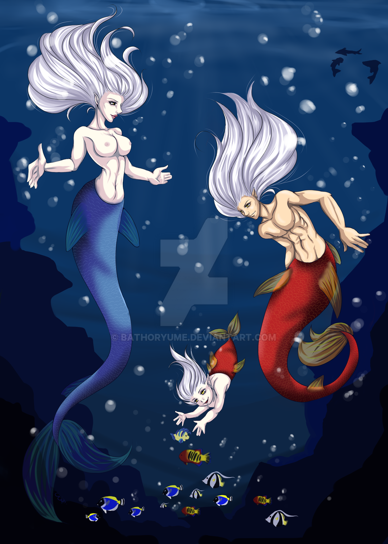 Under the Sea ~ by BathorYume