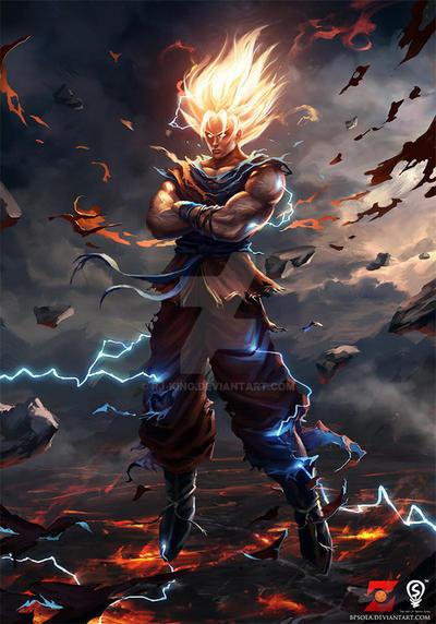 galit na Mr. Goku by rj-king
