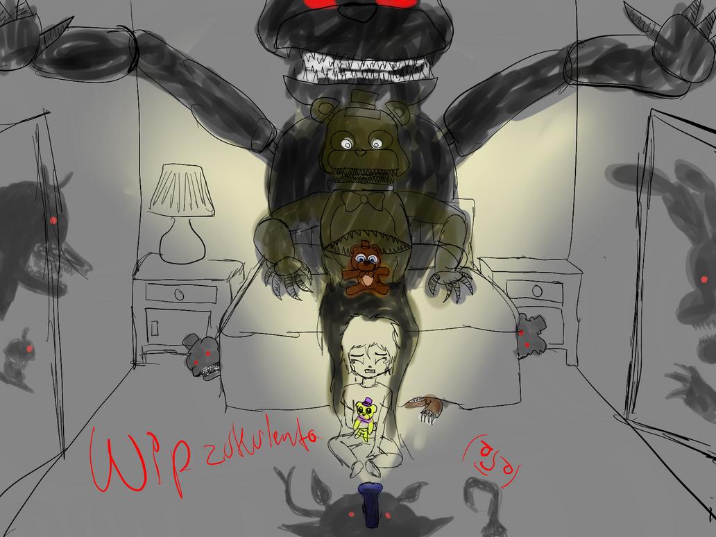 WIP Zukulentho - Nightmare by Yoshic