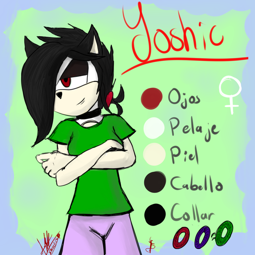 Yoshic The Hedgehog by Yoshic