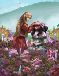 [Illustration] Flower Crowns