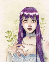 [OC] Glanelle Greenheart - The witch apprentice