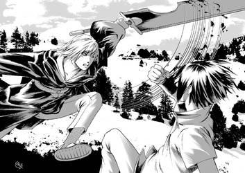 Suigetsu vs Sasuke