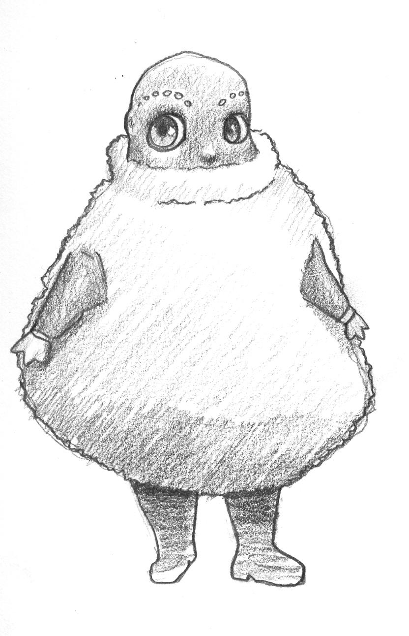 boohbah sketch by thechuckface on deviantart