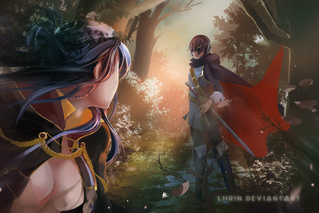 [COM] Fire Emblem Awakening: IN THE WOOD by Liirin