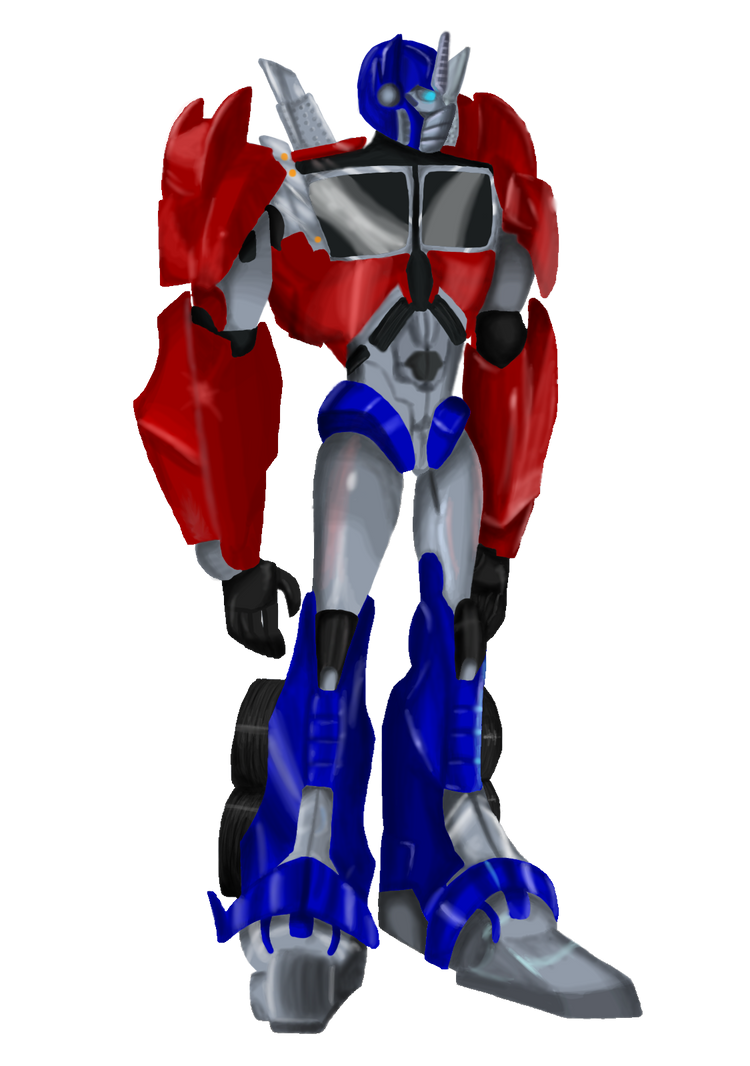TFP Optimus Prime by TMNT-Raph-fan