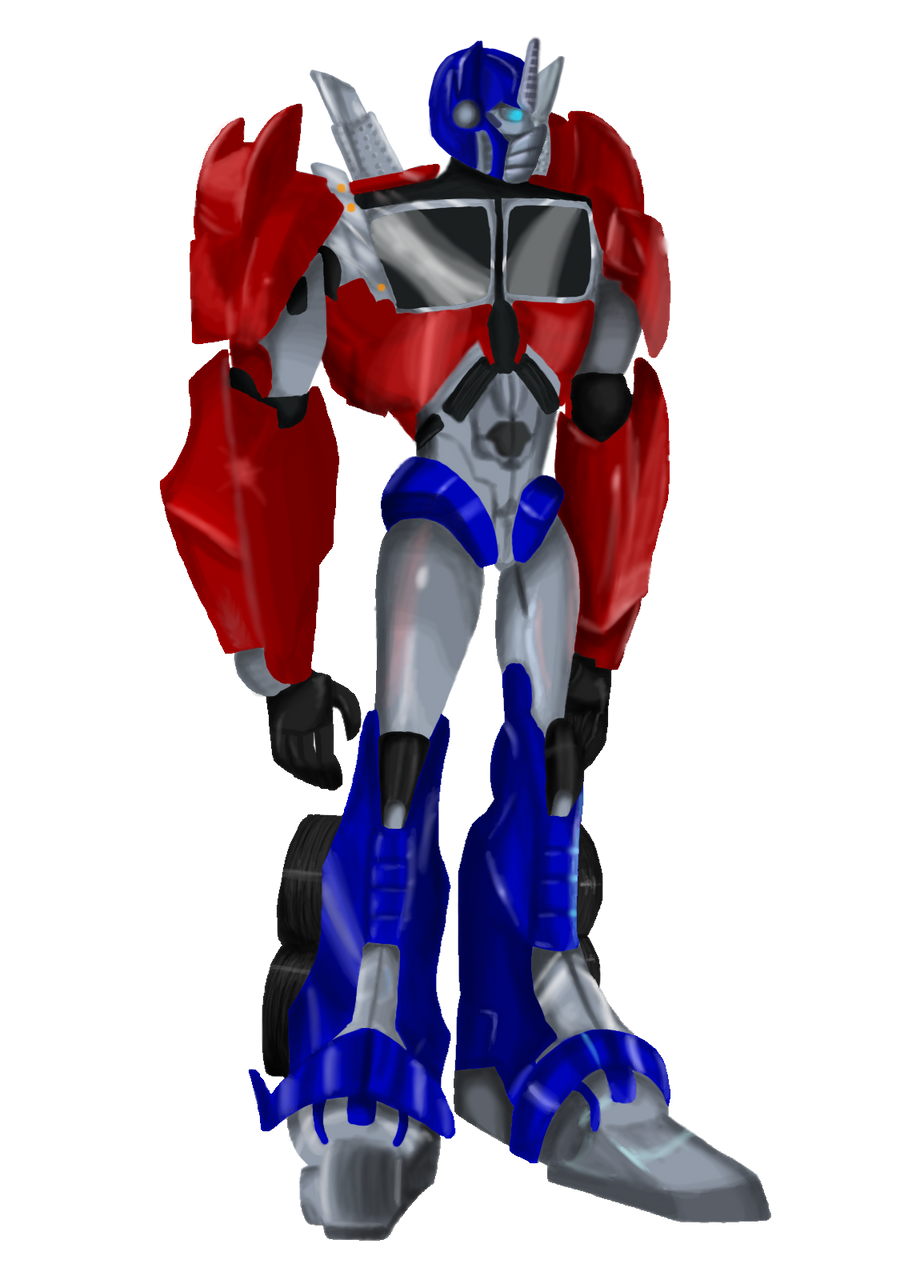 TFP Optimus Prime by TMNT-Raph-fan