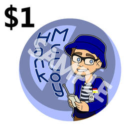 Sale: XDOFP Buttons - Hank McCoy by TMNT-Raph-fan