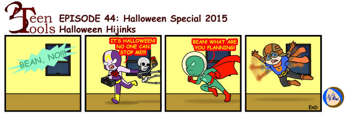 3TT 44 - Halloween Hijinks by TMNT-Raph-fan