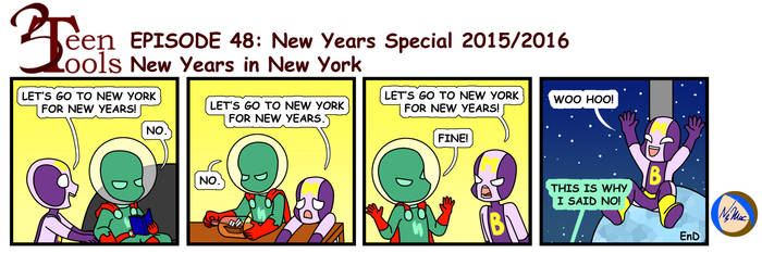 3TT 48 - New Years in New York by TMNT-Raph-fan