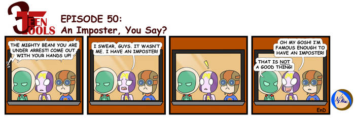 3TT 50 - An Imposter, You Say? by TMNT-Raph-fan