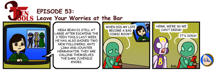3TT 53 - Leave Your Worries at the Bar by TMNT-Raph-fan