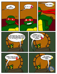 Romance and Doom Chap. 5 PG 8 by TMNT-Raph-fan