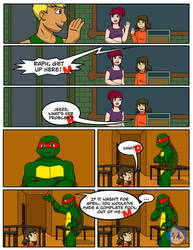 Romance and Doom Chap. 5 PG 9 by TMNT-Raph-fan